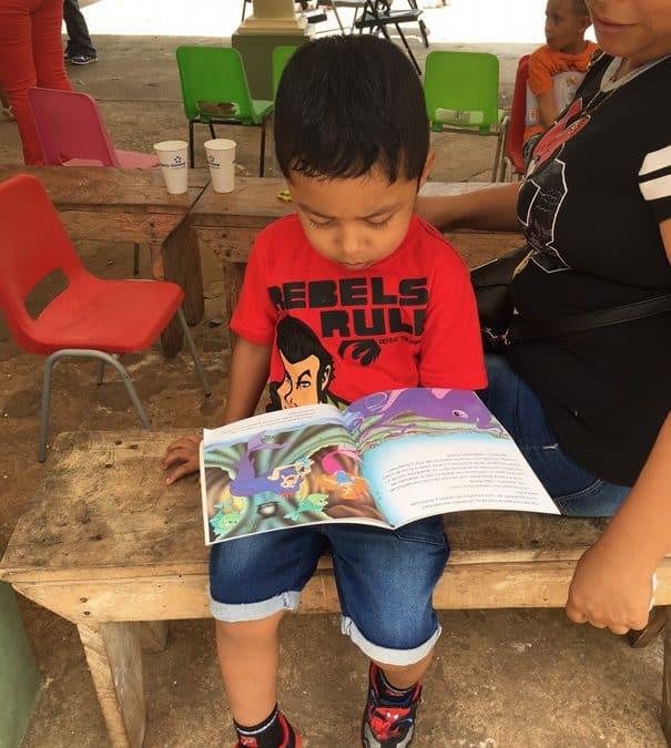 Cuentacuentos en la Escuela San Pedro Nolasco
