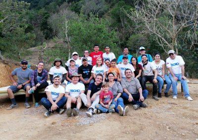 Construcción de casas en Costa Rica con TECHO