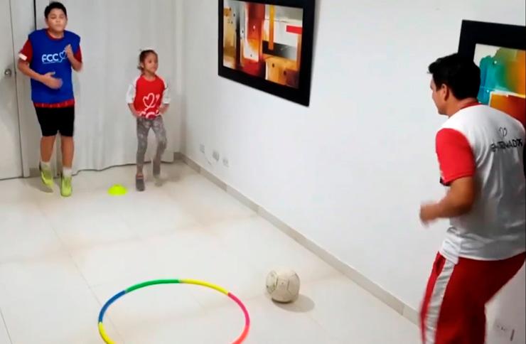 """Entrenamiento online: """"Goles que cambian al mundo"""""""